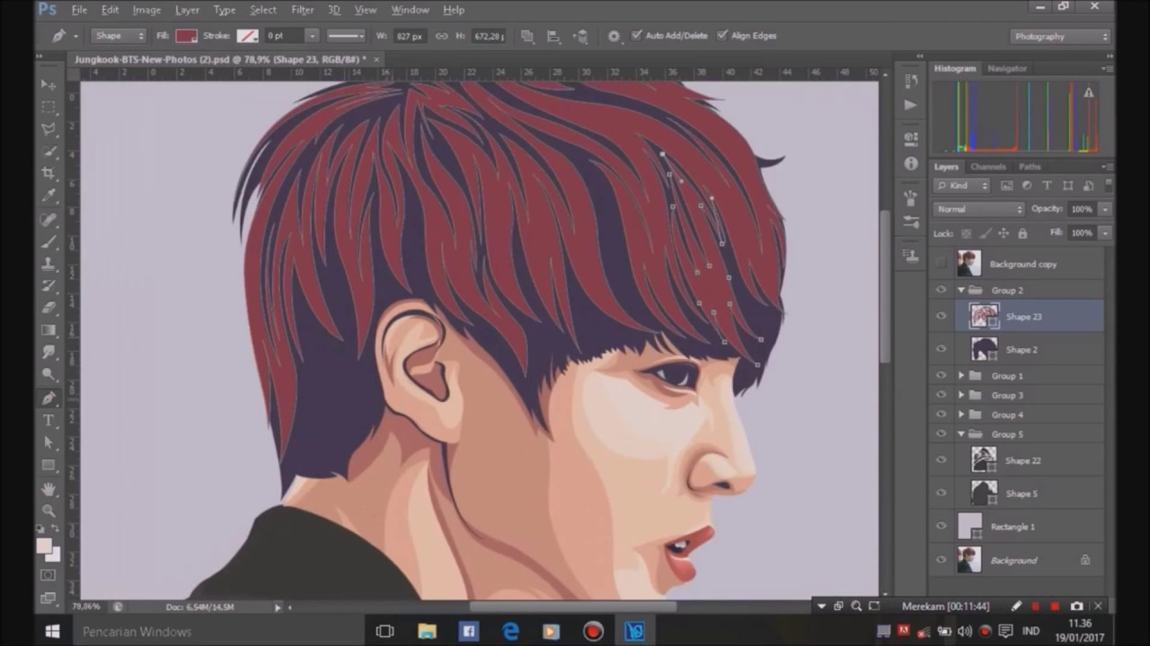 vector tutorial photoshop cs6