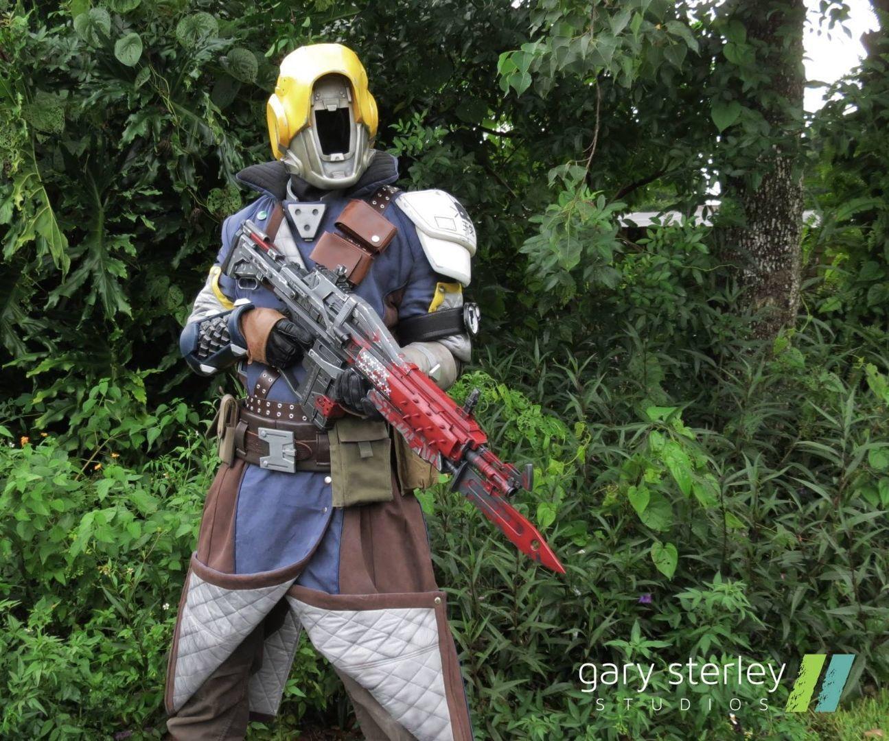 destiny hunter cosplay tutorial