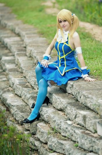 lucy heartfilia cosplay tutorial