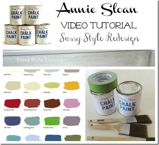 annie sloan dark wax tutorial