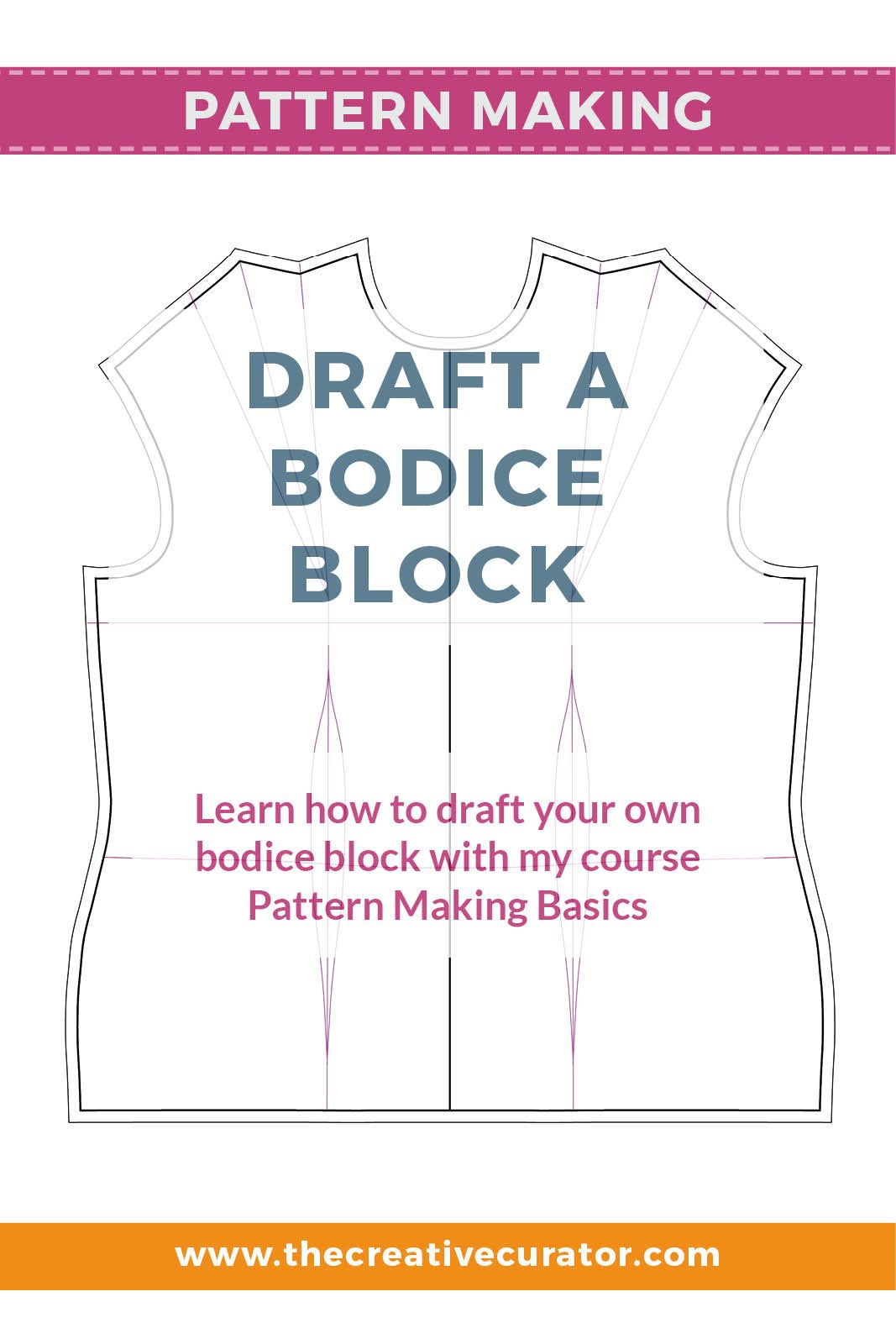 bodice pattern making tutorial