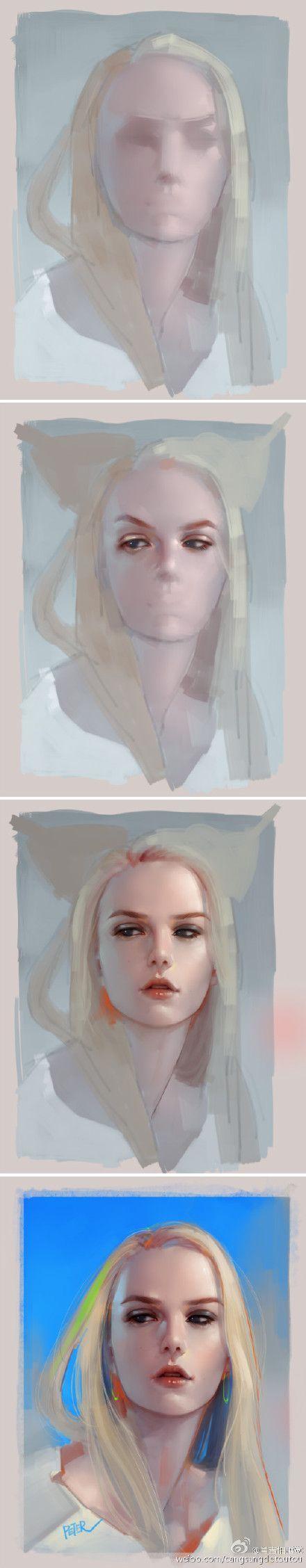 digital art step by step tutorial