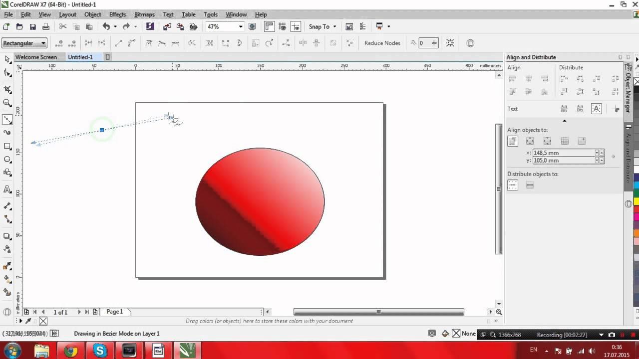 video tutorial corel draw x7