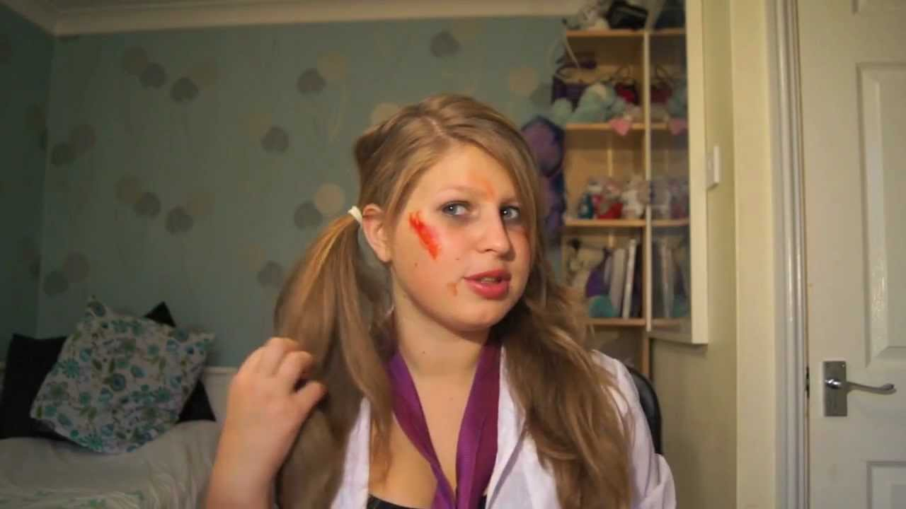 dead school girl makeup tutorial
