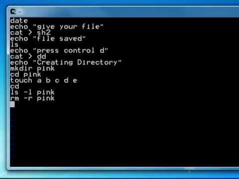 cygwin shell script tutorial