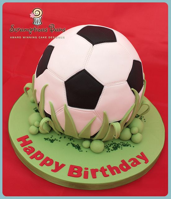 soccer ball cake tutorial