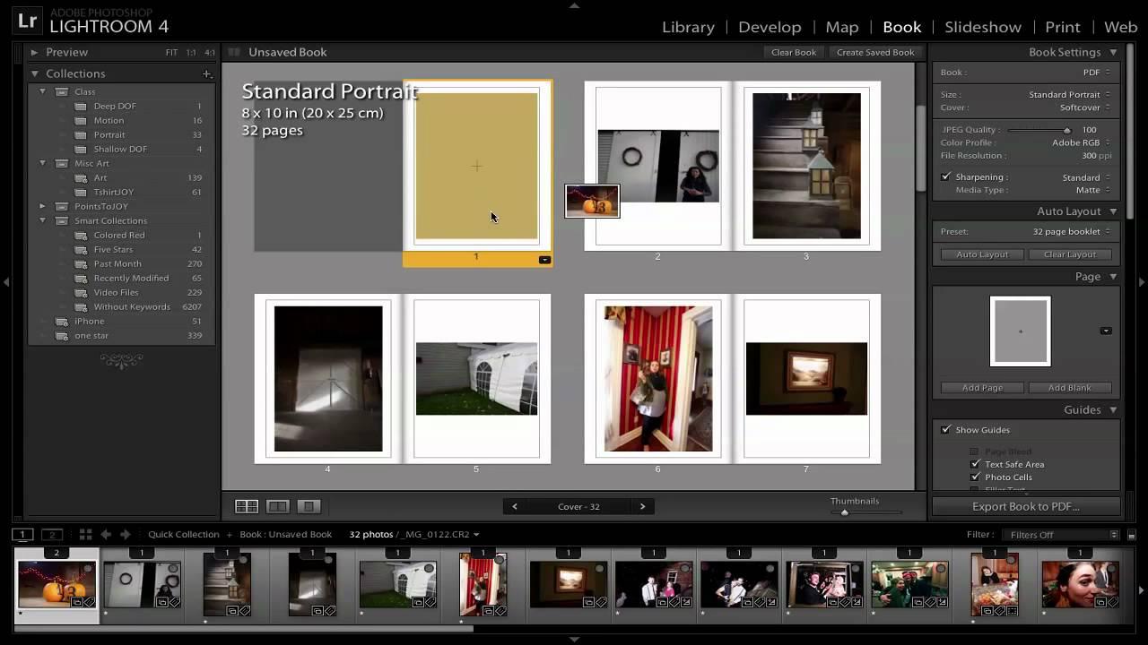 blurb photo book tutorial