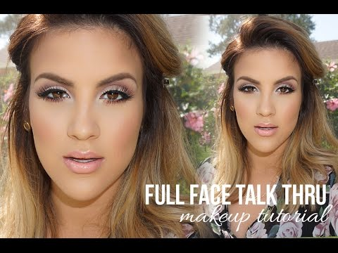 face makeup tutorial step by step pictures