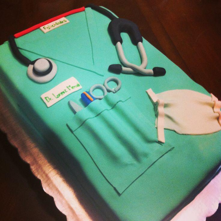 doctor coat cake tutorial