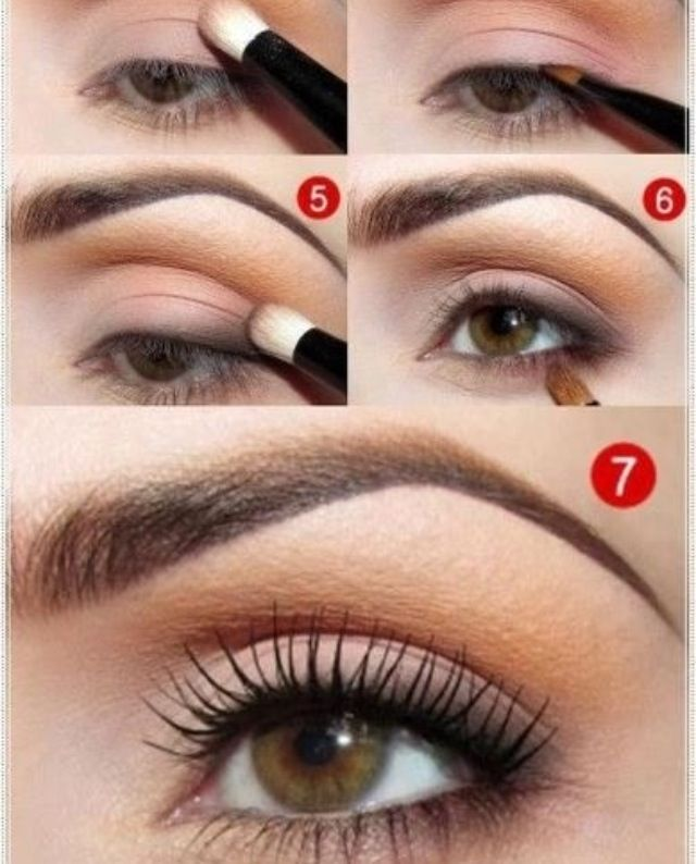 natural looking eye makeup tutorial