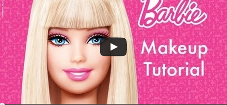 tutorial make up barbie