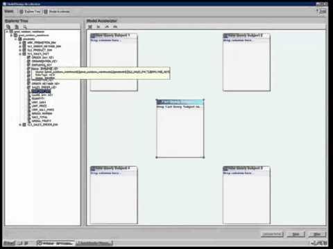 ibm cognos framework manager tutorial
