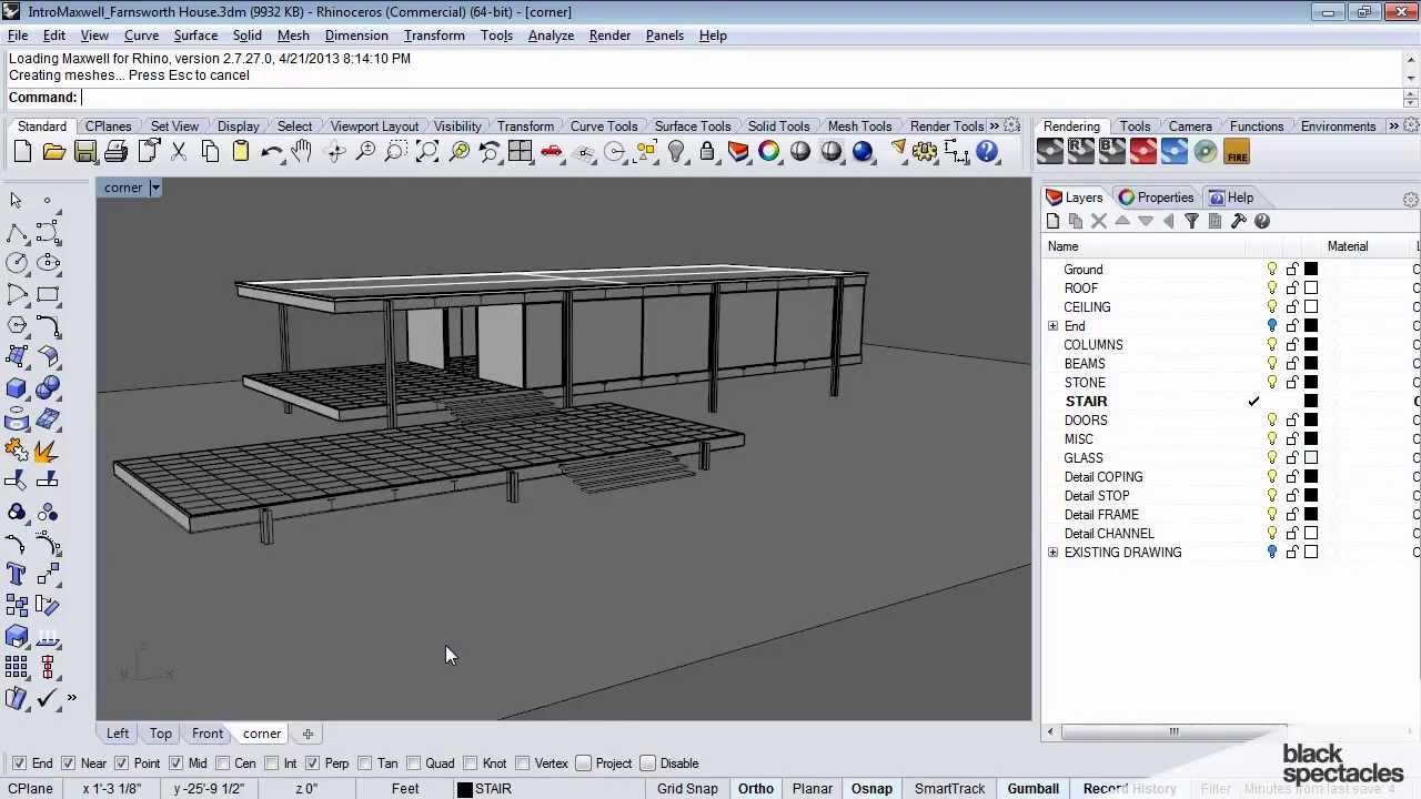 maxwell render tutorial rhino