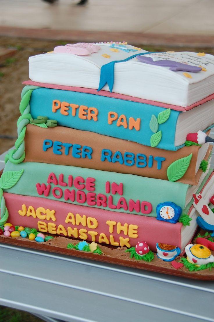 open book cake tutorial