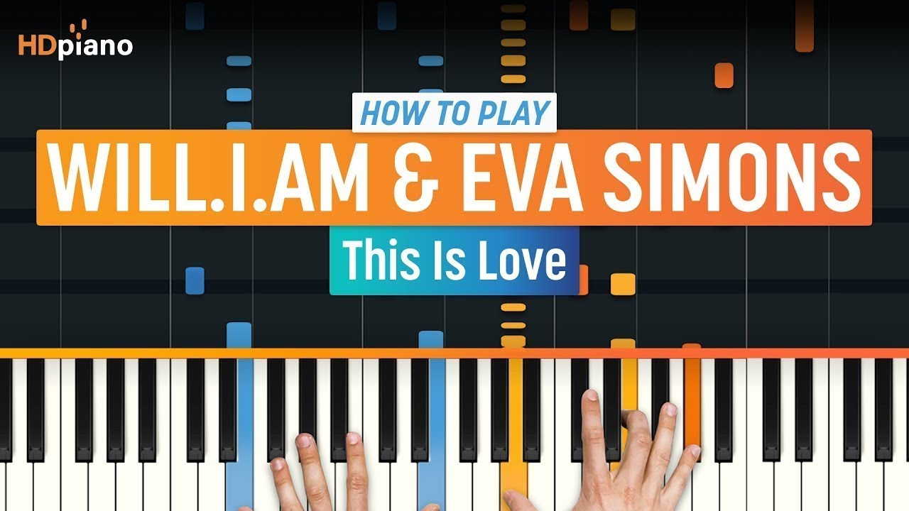 this love piano tutorial