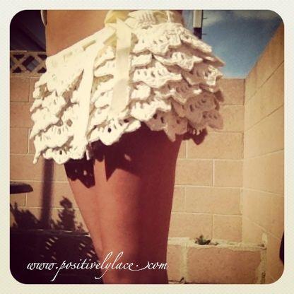 how to crochet ruffle skirt free pattern tutorial