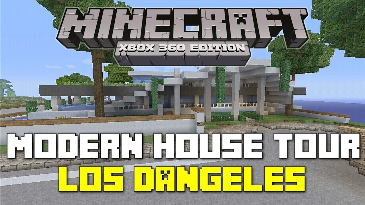 modern house minecraft tutorial xbox 360