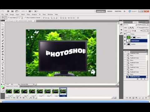 photoshop cs5 animation tutorial