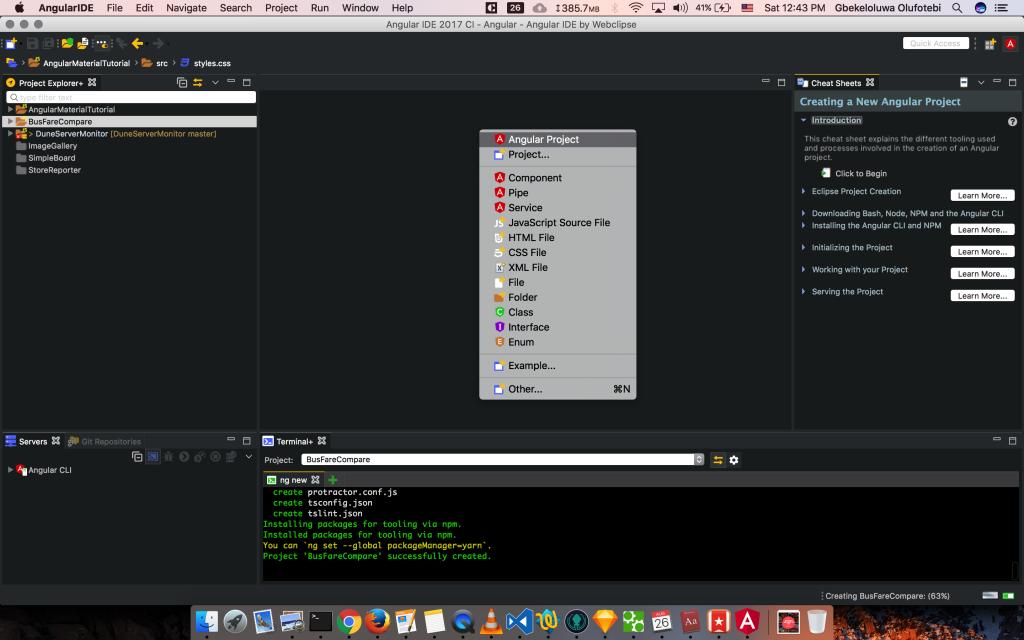 angular node js tutorial