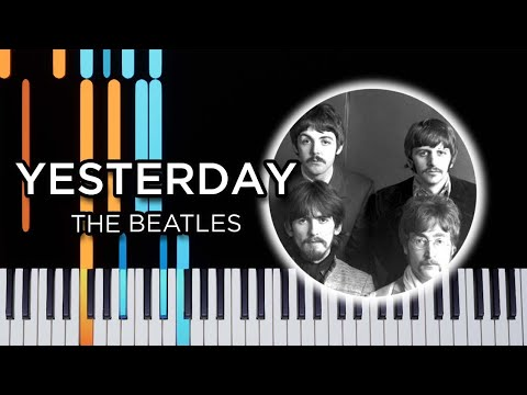 yesterday piano tutorial easy