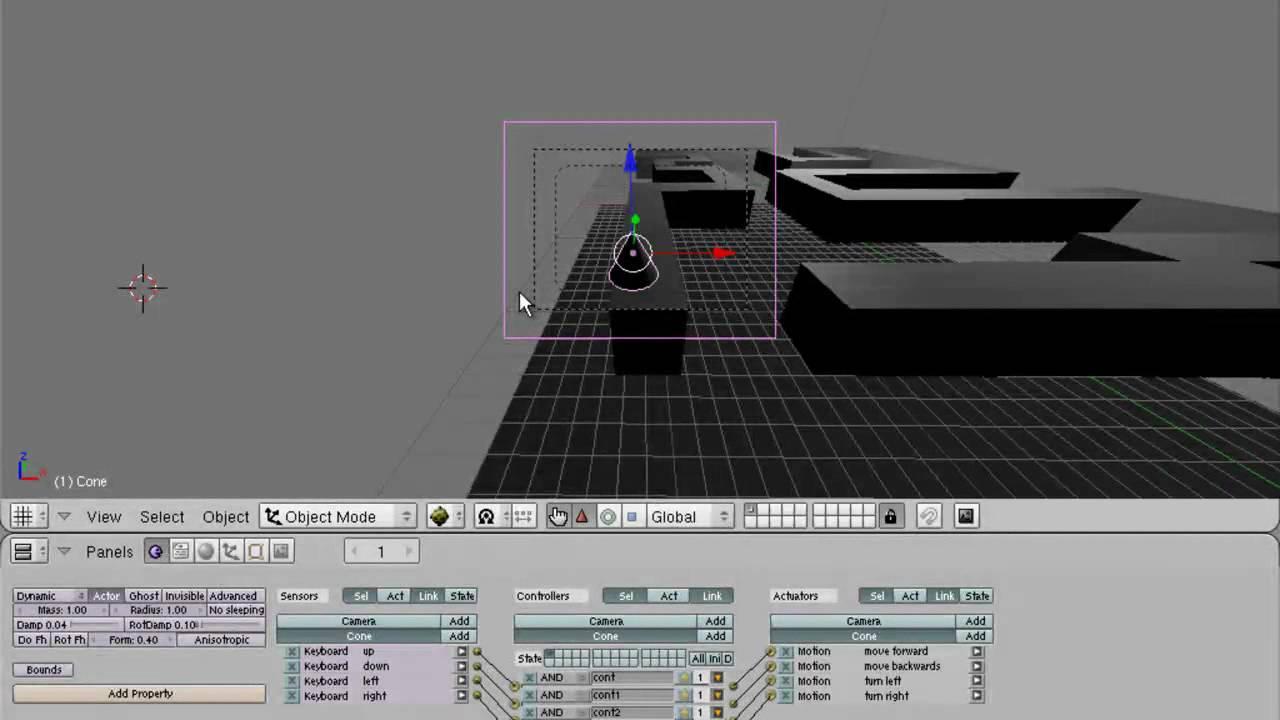 blender game engine tutorial