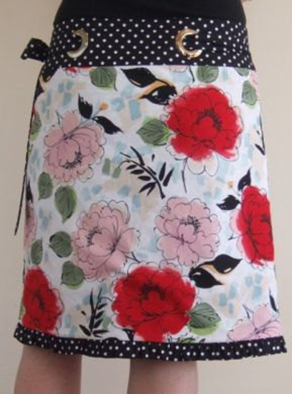 reversible wrap skirt tutorial