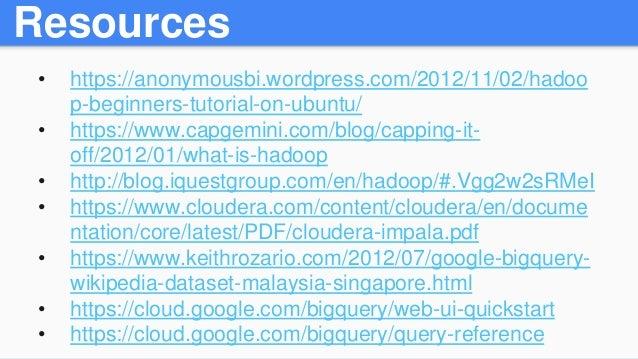 impala hadoop tutorial pdf