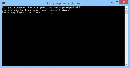 windows batch programming tutorial