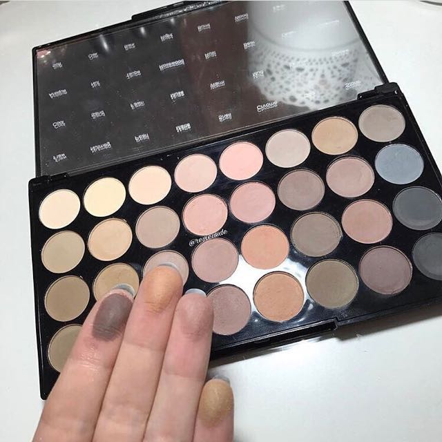 makeup revolution flawless palette tutorial