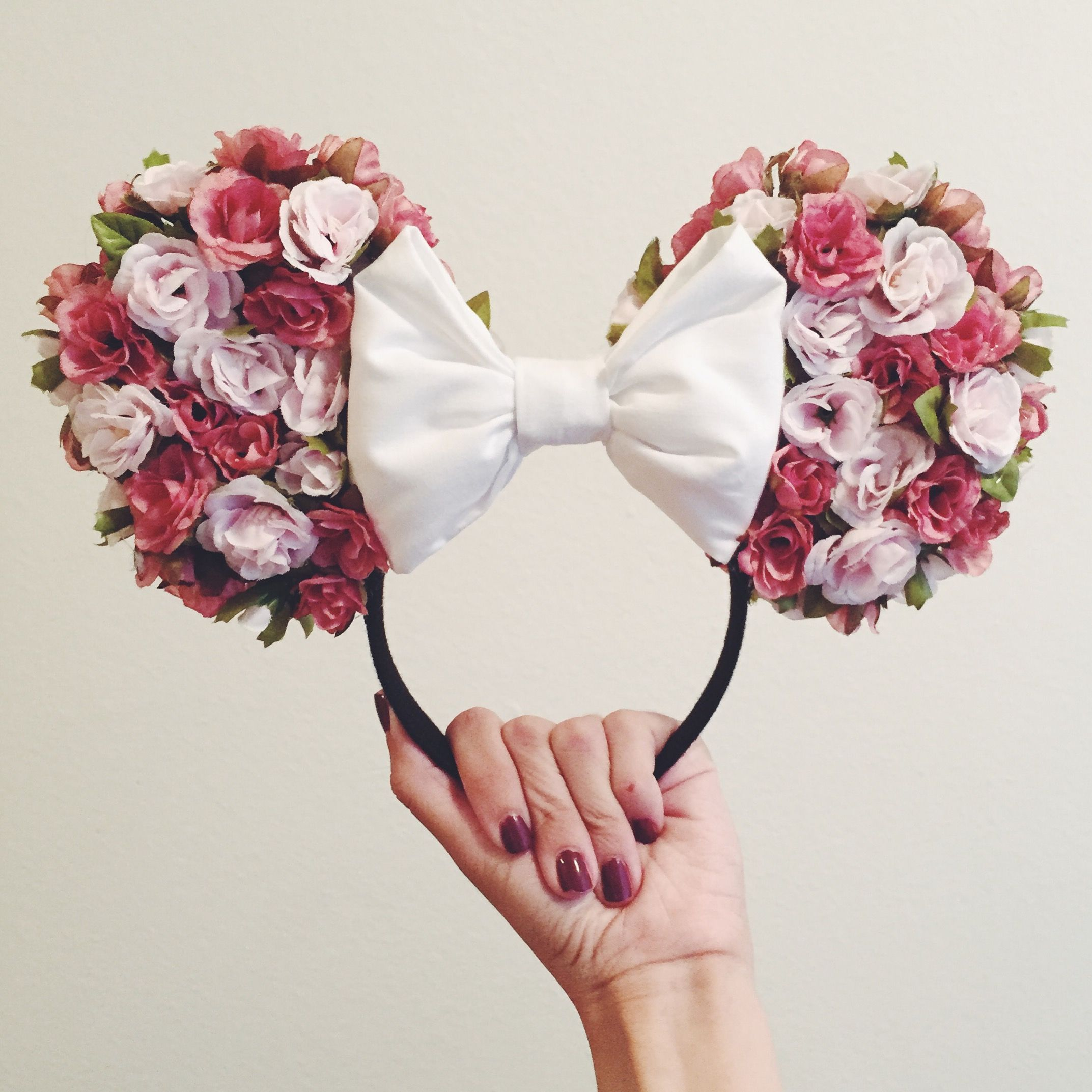 minnie mouse bow tutorial