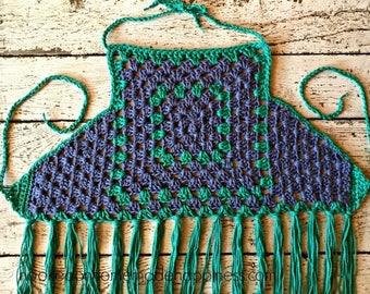 crochet bathing suit tutorial