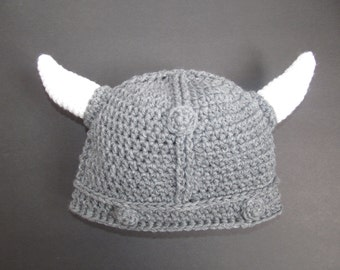 crochet viking hat tutorial