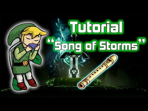 song of storms ocarina tutorial