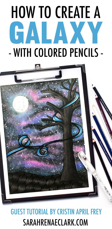 color pencil drawing tutorial