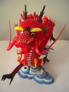 3d origami dragon tutorial