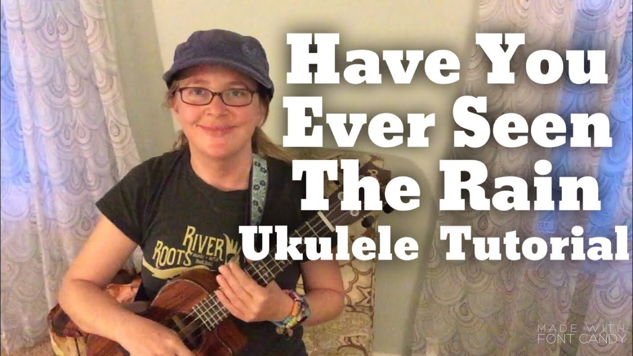 have you ever seen the rain piano tutorial