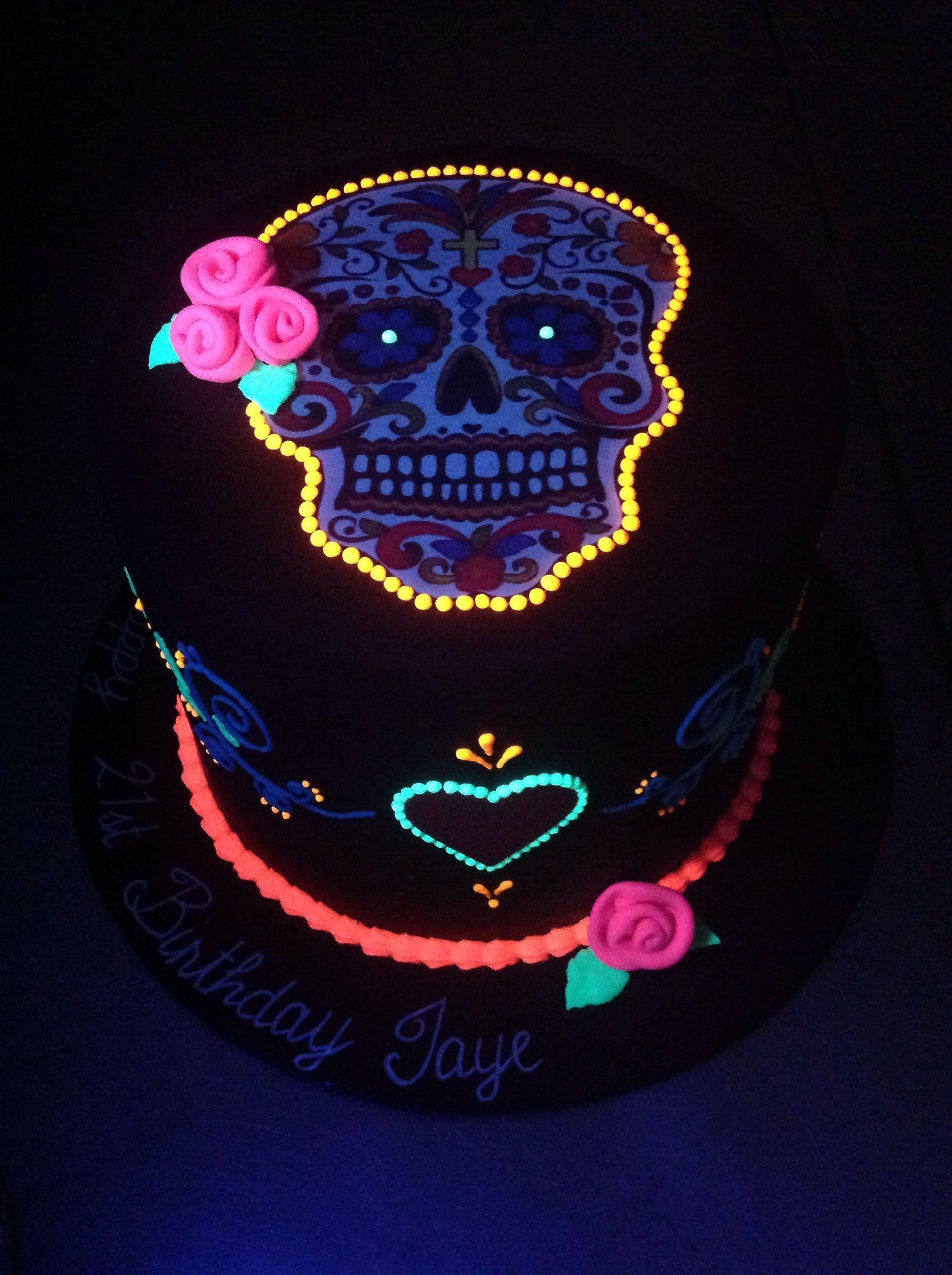 sugar skull cake tutorial