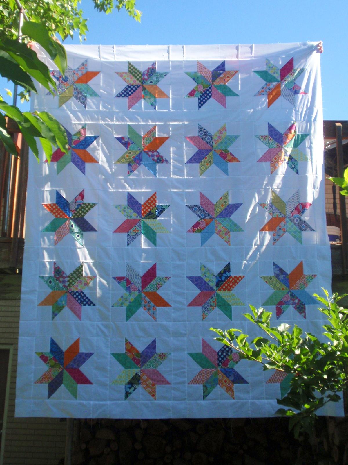 big star quilt tutorial