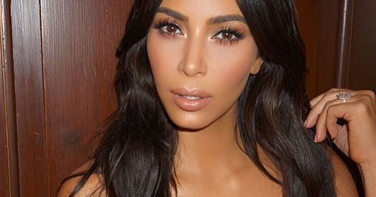 kim kardashian makeup tutorial step by step