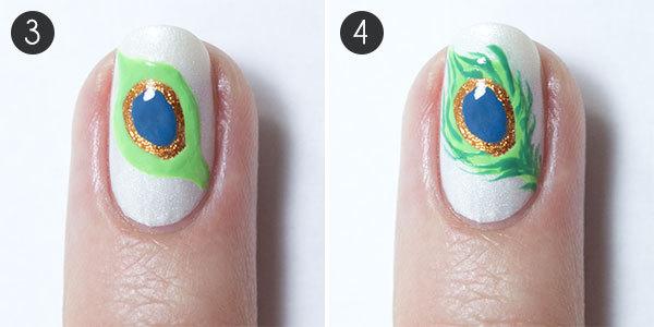 acrylic nail art tutorial