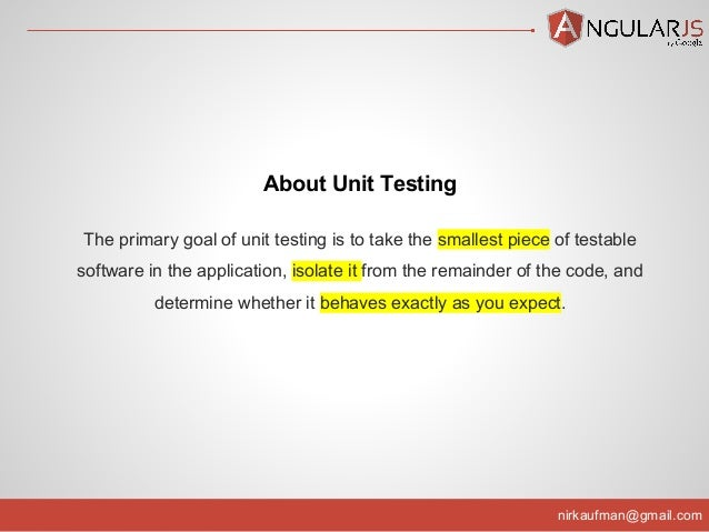 angular 4 unit testing tutorial