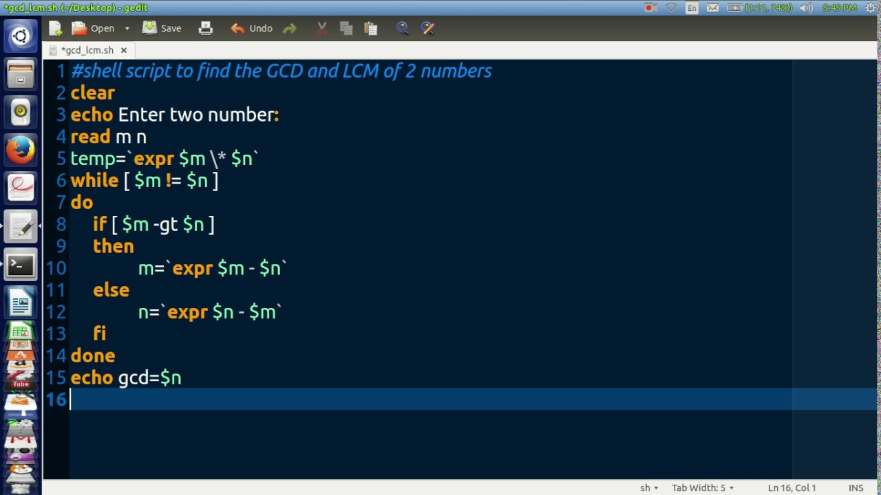shell scripting online tutorial