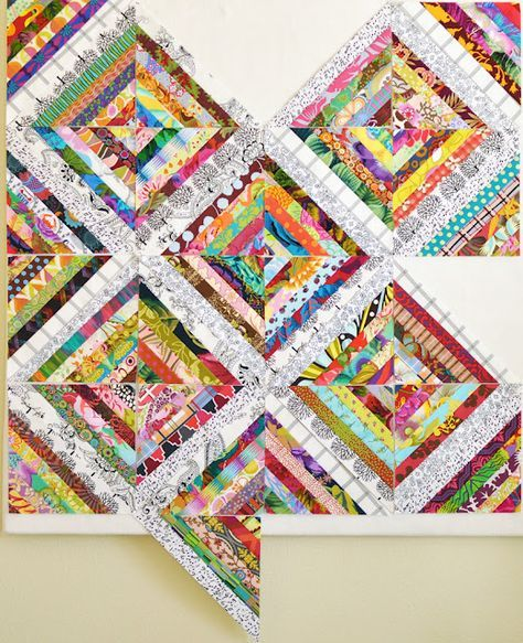 string star quilt block tutorial