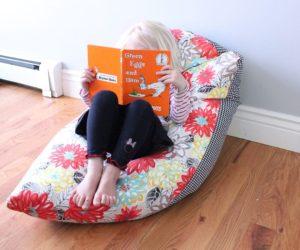 diy bean bag chair tutorial