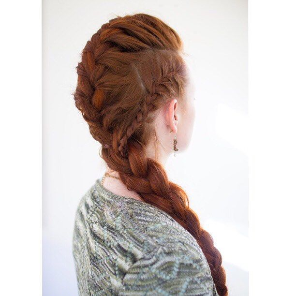 french braid picture tutorial