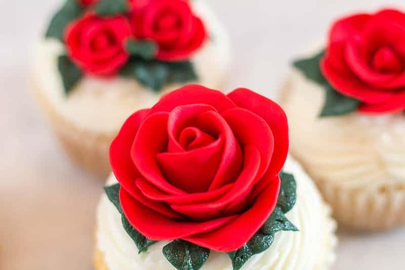 easy fondant rose tutorial