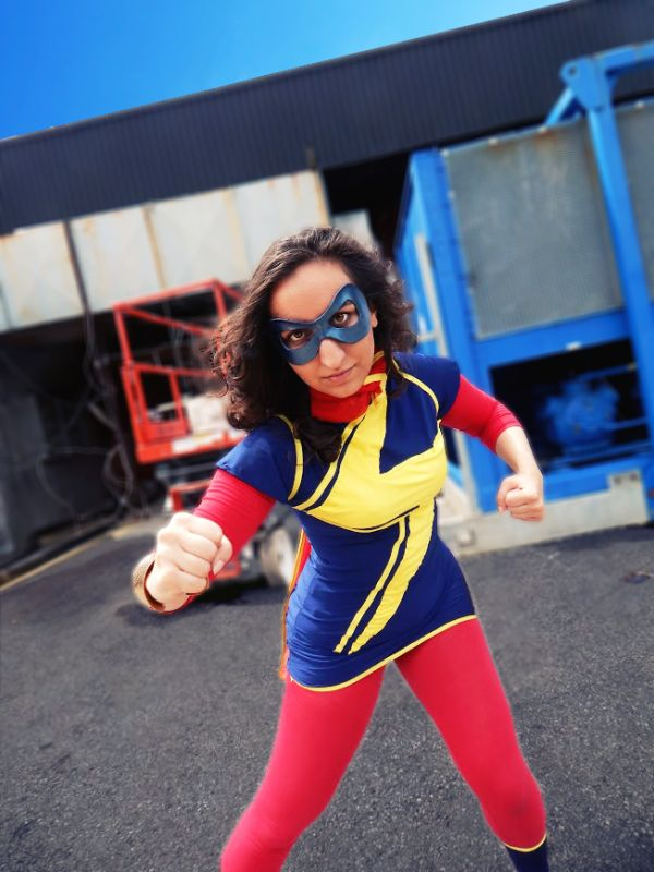 ms marvel cosplay tutorial
