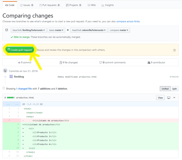 git pull request tutorial