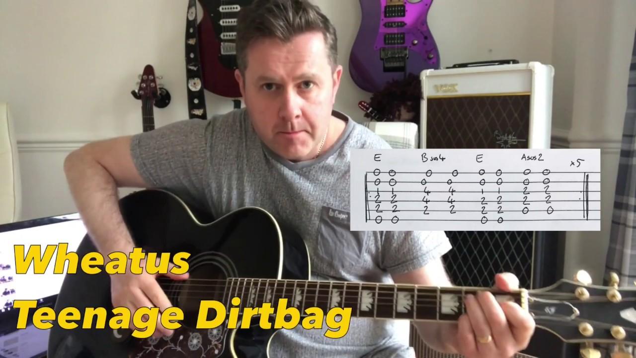 teenage dirtbag guitar tutorial