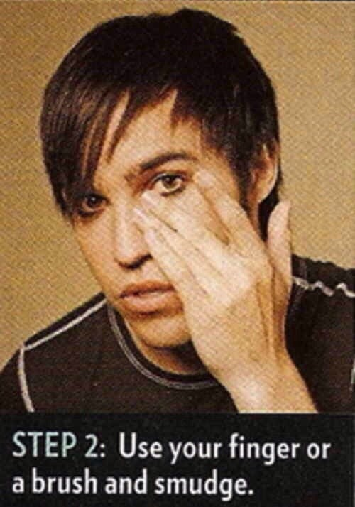 pete wentz eyeliner tutorial